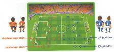 آموزش بازی ستارگان فوتبال