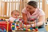 چگونه با نوزاد بازي كنيم ؟